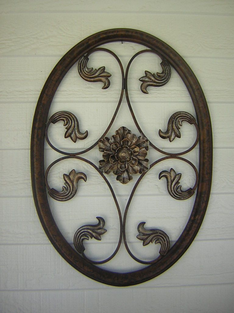 Oil Rubbed Bronze Metal Wall Hangings